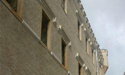 przebudowa zamku w Karpnikach na budynek hotelowy