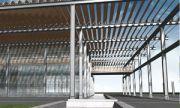 koncepcja budynku handlowego TGG przy ul. Hallera we Wrocďż˝awiu