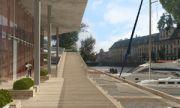 projekt konkursowy - budynek wielofunkcyjny Topacz we Wrocďż˝awiu