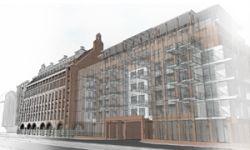Przebudowa wraz z rozbudowš budynku zespołu budynków Mamuta we Wrocławiu na budynki mieszkalne